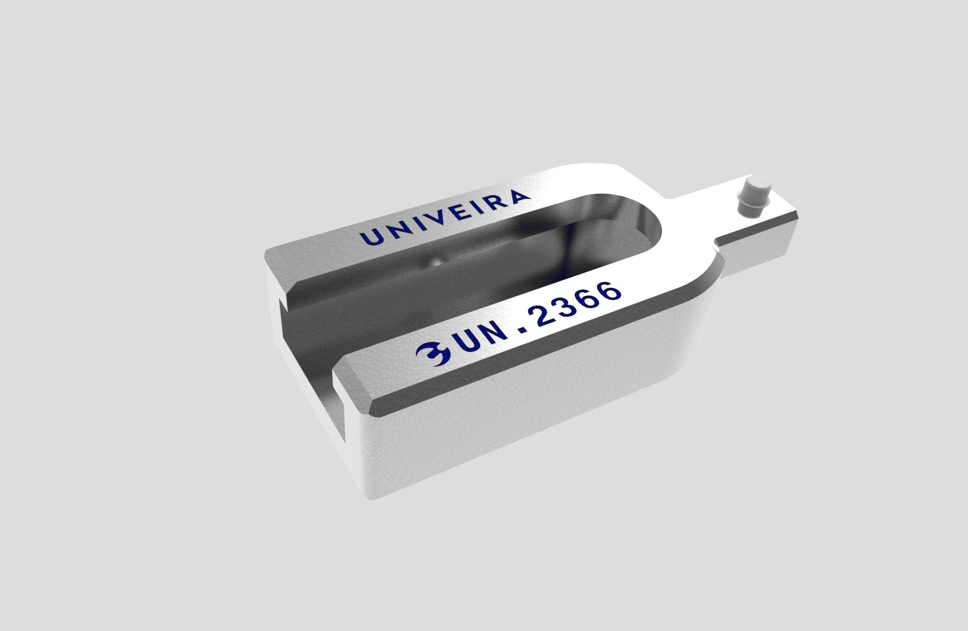 UN.2366 Adaptateur Mâle 9x12 - Femelle 20x7