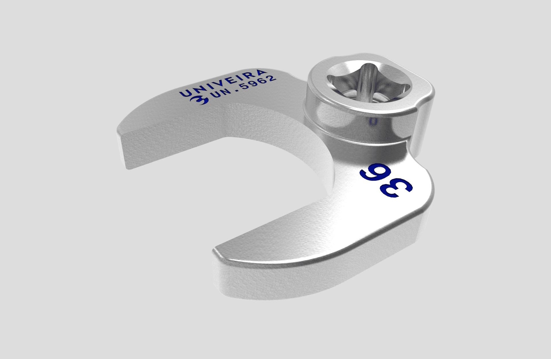 UN.5962 Embout a fourche de 36 attachement 1-2