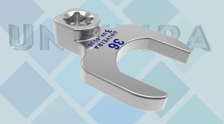 UN.6030 Embout a fourche de 36 attachement 1-2